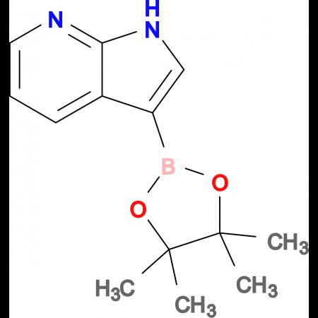3-(4,4,5,5-Tetramethyl-1,3,2-dioxaborolan-2-yl)-1H-pyrrolo[2,3-b]pyridine