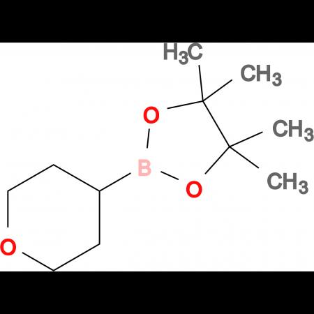 4,4,5,5-Tetramethyl-2-(tetrahydro-2H-pyran-4-yl)-1,3,2-dioxaborolane