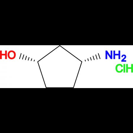 (1S,3R)-3-Aminocyclopentanol hydrochloride