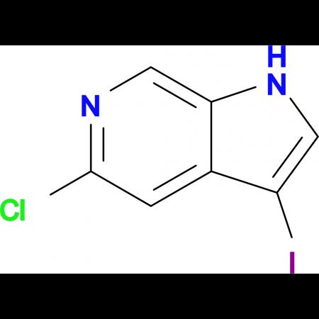 5-Chloro-3-iodo-1H-pyrrolo[2,3-c]pyridine