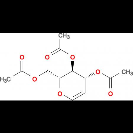 (2R,3S,4R)-2-(Acetoxymethyl)-3,4-dihydro-2H-pyran-3,4-diyl diacetate