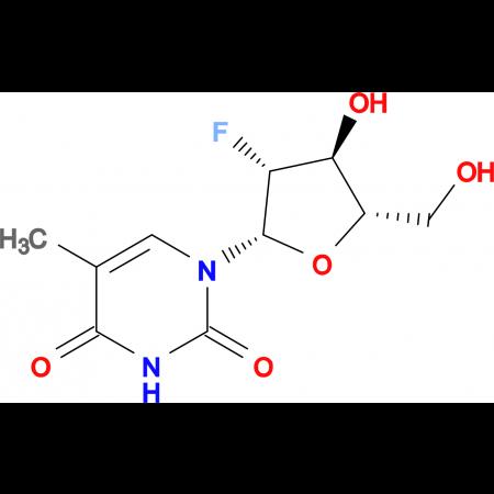 1-((2S,3R,4S,5S)-3-Fluoro-4-hydroxy-5-(hydroxymethyl)tetrahydrofuran-2-yl)-5-methylpyrimidine-2,4(1H,3H)-dione