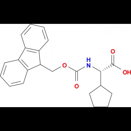 (S)-2-((((9H-Fluoren-9-yl)methoxy)carbonyl)amino)-2-cyclopentylacetic acid