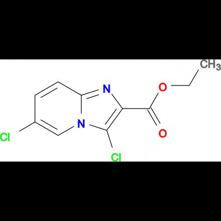 Ethyl 3,6-dichloroimidazo[1,2-a]pyridine-2-carboxylate