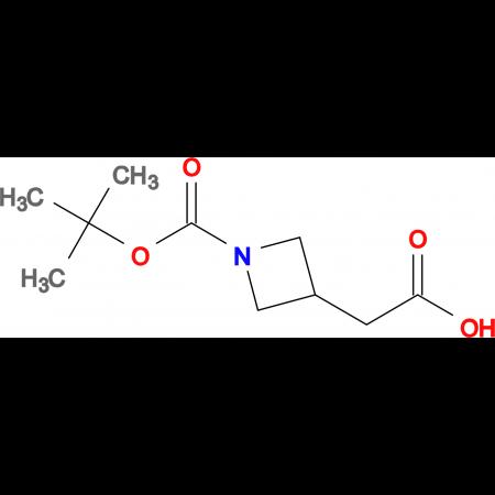 2-(1-(tert-Butoxycarbonyl)azetidin-3-yl)acetic acid