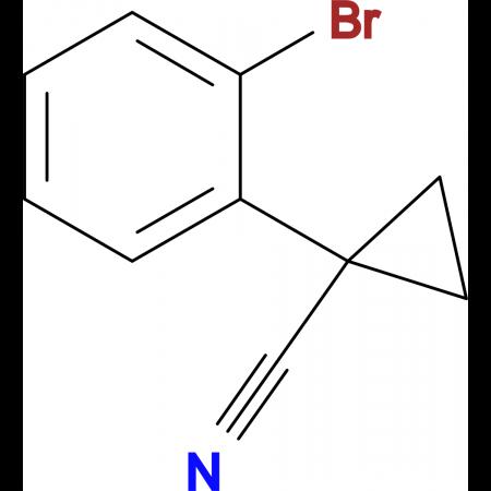 1-(2-Bromophenyl)cyclopropanecarbonitrile
