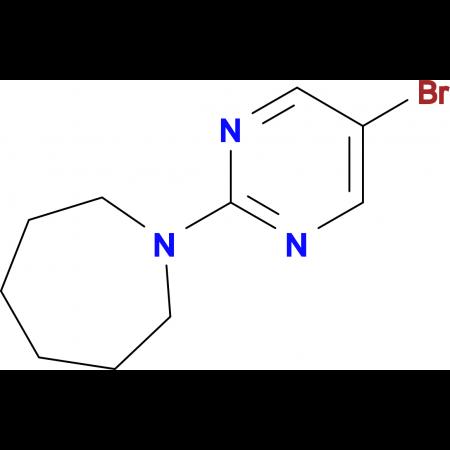 1-(5-Bromopyrimidin-2-yl)azepane