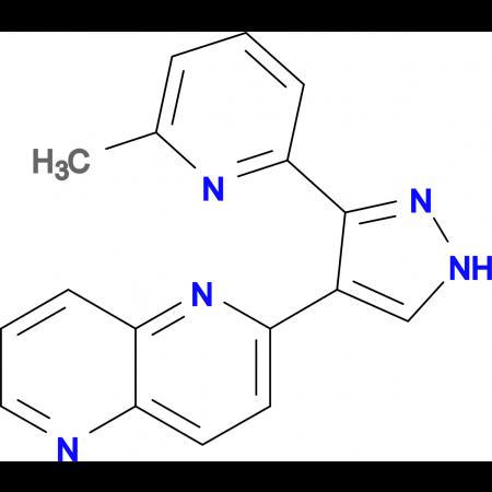 2-(3-(6-Methylpyridin-2-yl)-1H-pyrazol-4-yl)-1,5-naphthyridine