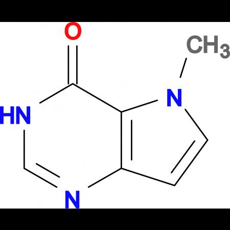 5-Methyl-3H-pyrrolo[3,2-d]pyrimidin-4(5H)-one