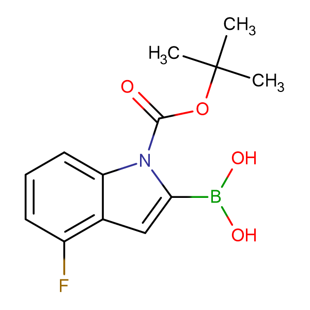 (1-(tert-Butoxycarbonyl)-4-fluoro-1H-indol-2-yl)boronic acid