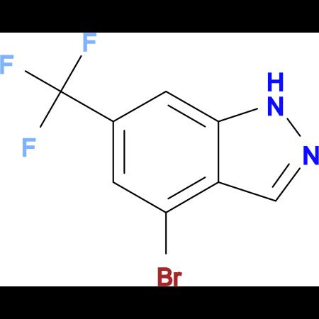 4-Bromo-6-(trifluoromethyl)-1H-indazole