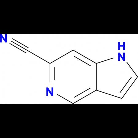 1H-Pyrrolo[3,2-c]pyridine-6-carbonitrile