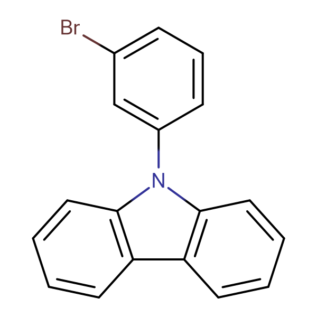 9-(3-Bromophenyl)-9H-carbazole