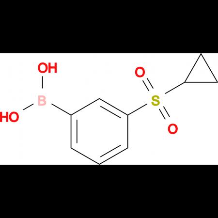 (3-(Cyclopropylsulfonyl)phenyl)boronic acid