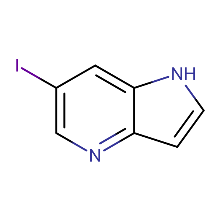 6-Iodo-1H-pyrrolo[3,2-b]pyridine