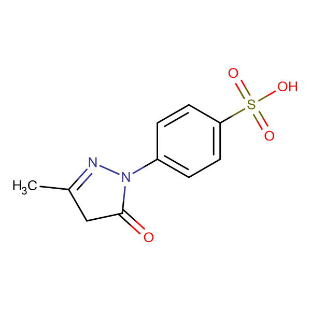 4-(3-Methyl-5-oxo-4,5-dihydro-1H-pyrazol-1-yl)benzenesulfonic acid