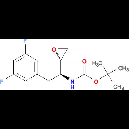 tert-Butyl ((S)-2-(3,5-difluorophenyl)-1-((S)-oxiran-2-yl)ethyl)carbamate
