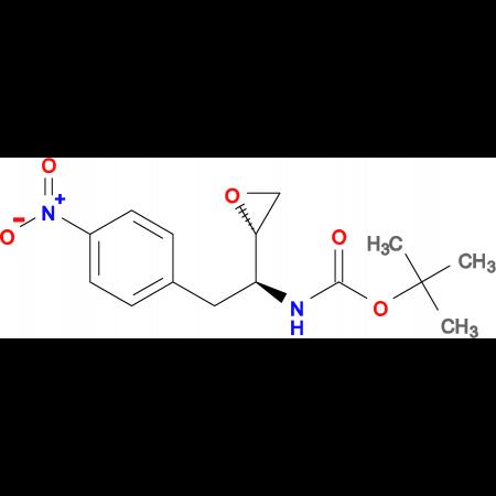 tert-Butyl ((S)-2-(4-nitrophenyl)-1-((S)-oxiran-2-yl)ethyl)carbamate