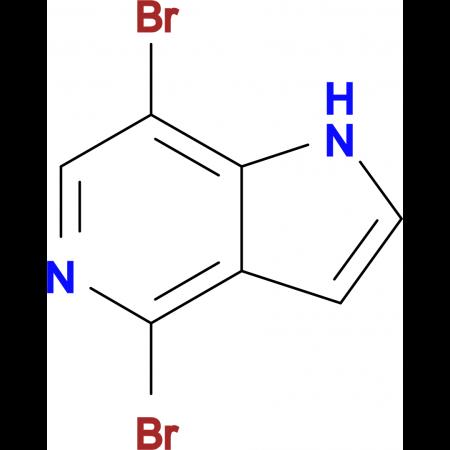 4,7-Dibromo-1H-pyrrolo[3,2-c]pyridine