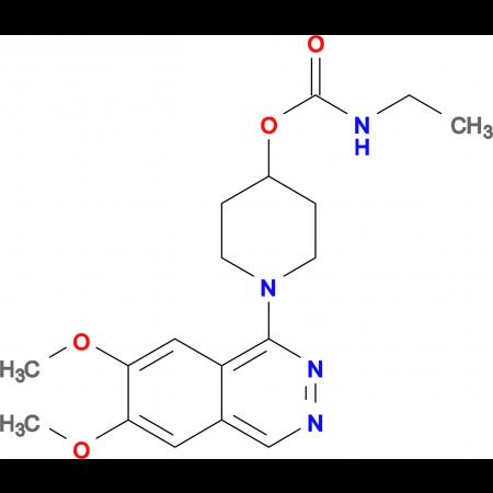 1-(6,7-Dimethoxyphthalazin-1-yl)piperidin-4-yl ethylcarbamate