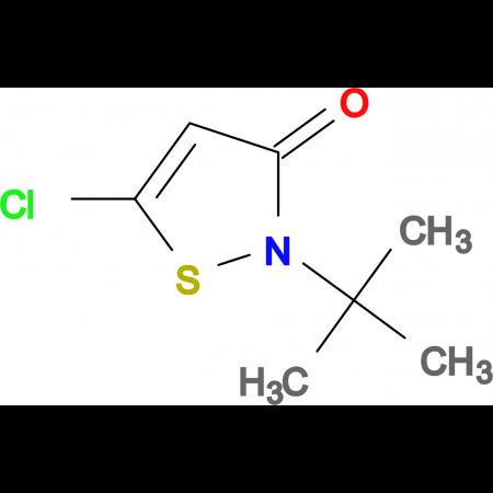 2-(tert-Butyl)-5-chloroisothiazol-3(2H)-one
