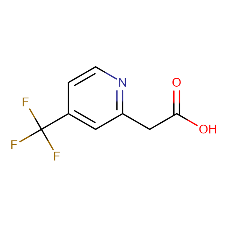 2-(4-(Trifluoromethyl)pyridin-2-yl)acetic acid