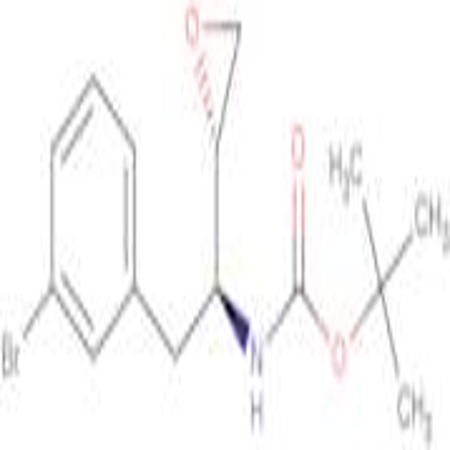 tert-Butyl ((S)-2-(3-bromophenyl)-1-((S)-oxiran-2-yl)ethyl)carbamate
