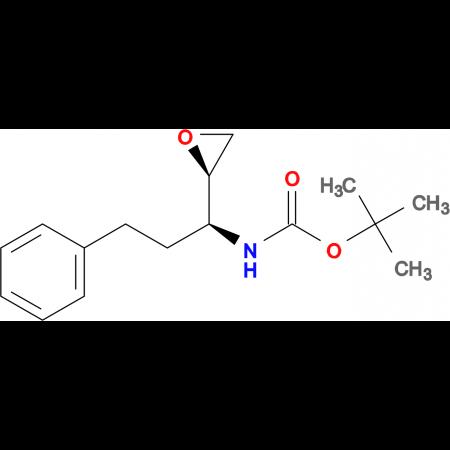 tert-Butyl ((S)-1-((R)-oxiran-2-yl)-3-phenylpropyl)carbamate