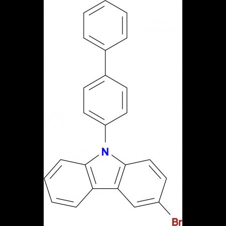 9-([1,1'-Biphenyl]-4-yl)-3-bromo-9H-carbazole