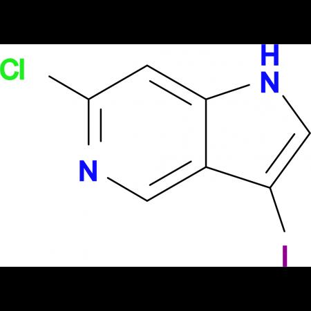 6-Chloro-3-iodo-1H-pyrrolo[3,2-c]pyridine