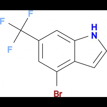 4-Bromo-6-(trifluoromethyl)-1H-indole