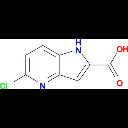 5-Chloro-1H-pyrrolo[3,2-b]pyridine-2-carboxylic acid