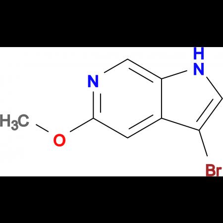 3-Bromo-5-methoxy-1H-pyrrolo[2,3-c]pyridine