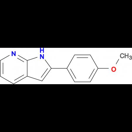 2-(4-Methoxyphenyl)-1H-pyrrolo[2,3-b]pyridine