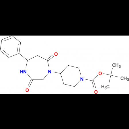 tert-butyl 4-[5-phenyl-3,7-dioxo-1,4-diazepan-1-yl]piperidine-1-carboxylate