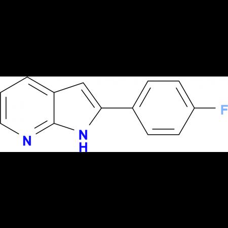2-(4-fluorophenyl)-1H-pyrrolo[2,3-b]pyridine