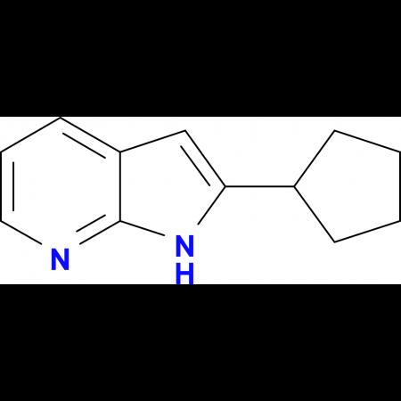 2-cyclopentyl-1H-pyrrolo[2,3-b]pyridine