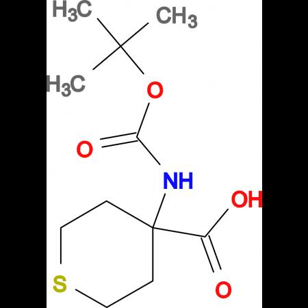 Boc-Amino-4-carboxytetrahydrothiopyran