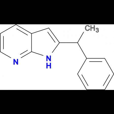 2-(1-phenylethyl)-1H-pyrrolo[2,3-b]pyridine