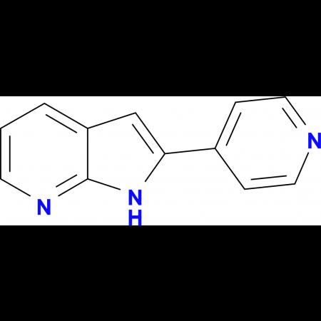 2-(4-Pyridyl)-1H-pyrrolo[2,3-B]pyridine
