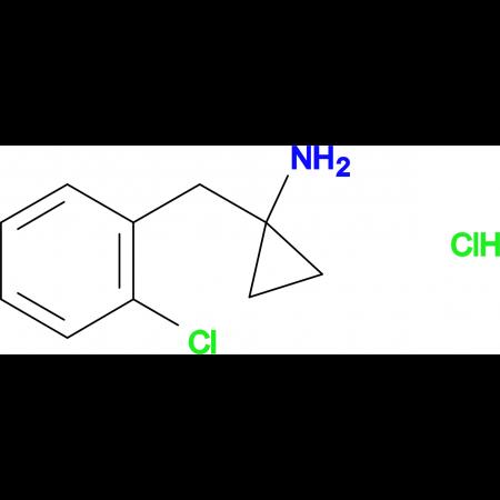 [1-(2-Chlorobenzyl)cyclopropyl]amine hydrochloride