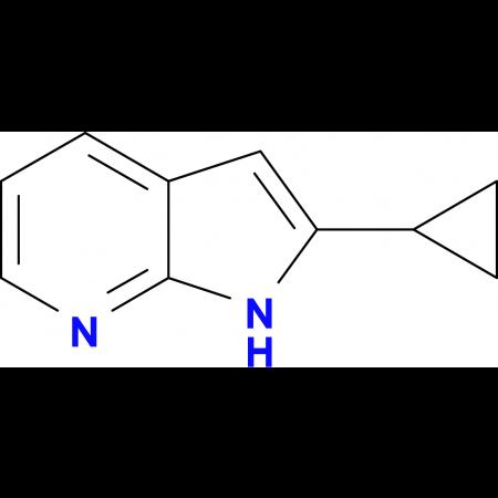 2-cyclopropyl-7-azaindole