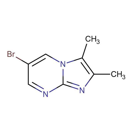 6-BROMO-2,3-DIMETHYLIMIDAZO[1,2-A]PYRIMIDINE