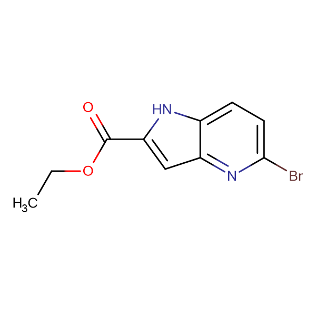 ETHYL 5-BROMO-4-AZAINDOLE-2-CARBOXYLATE