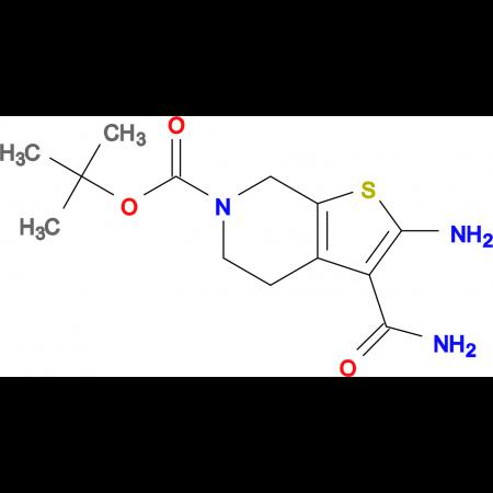 2-AMINO-6-BOC-3-CARBAMOYL-4,5-DIHYDROTHIENO[2,3-C]PYRIDINE