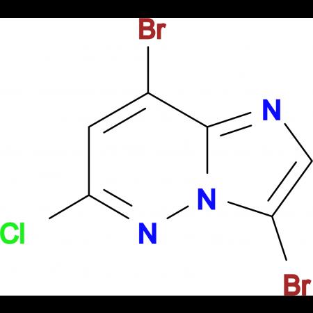 3,8-DIBROMO-6-CHLOROIMIDAZO[1,2-B]PYRIDAZINE