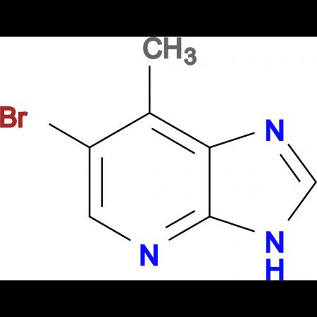 6-BROMO-7-METHYL-3H-IMIDAZO[4,5-B]PYRIDINE