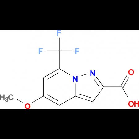 5-METHOXY-7-(TRIFLUOROMETHYL)PYRAZOLO[1,5-A]PYRIDINE-2-CARBOXYLIC ACID