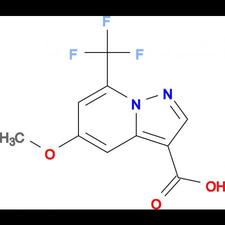 5-METHOXY-7-(TRIFLUOROMETHYL)PYRAZOLO[1,5-A]PYRIDINE-3-CARBOXYLIC ACID