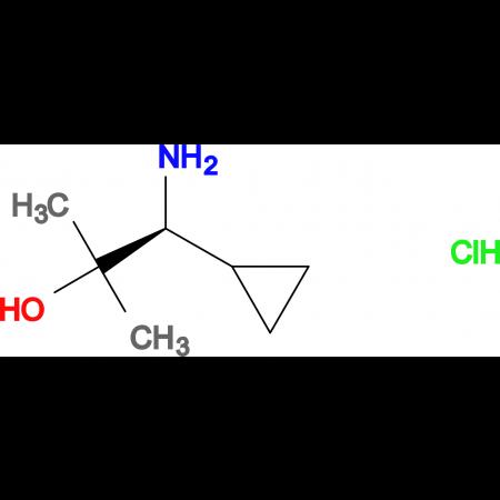 (S)-1-AMINO-1-CYCLOPROPYL-2-METHYLPROPAN-2-OL HCL